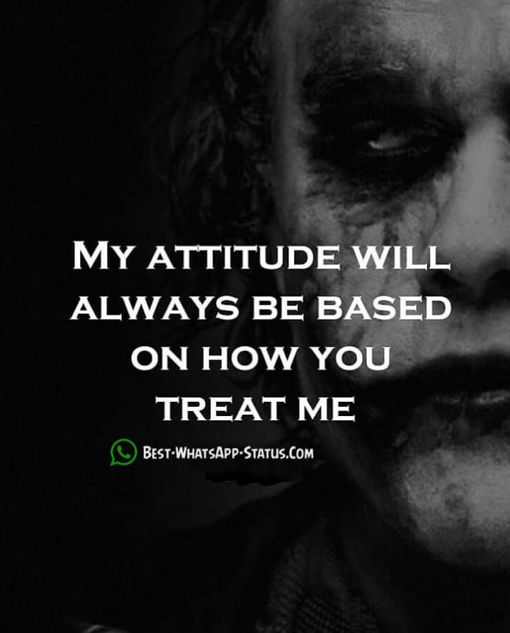 200 Best Attitude Status Best Whatsapp Status Find Exact One Here
