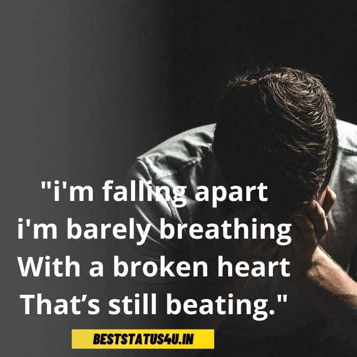 Heart Broken Whatsapp Status | Sad Heart Touching | (Feel ...