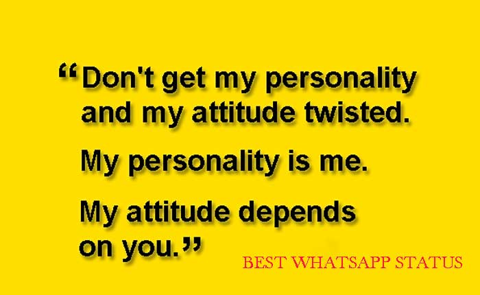 Cool Personality Whatsapp Status Best Quotes For Cool Personality
