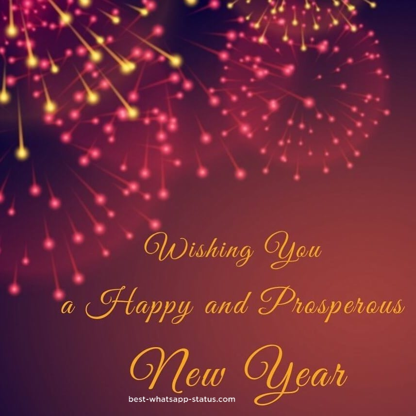 happy new year whatsapp status best quotes for new year