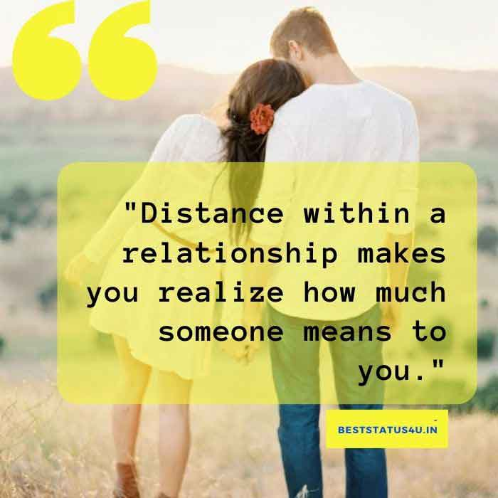 Quotes relationship www distance long 50 Best